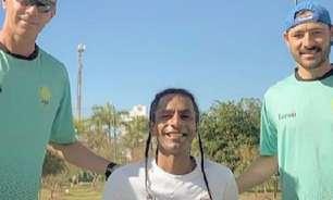 Ymanitu Silva treina em São Paulo e embarca dia 8 para Tóquio