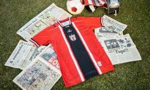 Botafogo-SP lança novo uniforme em homenagem a campanha do clube no Paulistão de 2001