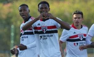 Sub-20: de virada, São Paulo goleia o Audax na estreia do Campeonato Paulista