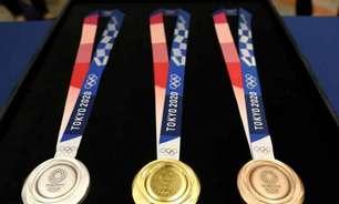Levantamento mostra quanto cada país paga por medalha na Olimpíada de Tóquio; confira