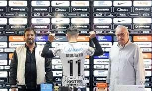 Novo camisa 11 do Corinthians, Giuliano se diz ansioso por estreia contra o Santos: 'Quero ser útil'