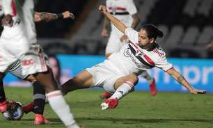 Com um gol e uma assistência, Benítez é destaque do São Paulo nos jogos contra seu ex-clube, o Vasco