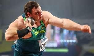 Darlan Romani fica fora do pódio no arremesso de peso nas Olimpíadas