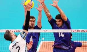 Vôlei masculino: França vence, e Brasil decidirá o bronze dos Jogos Olímpicos contra a Argentina