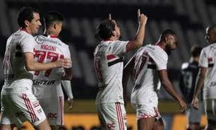 Média de gols do São Paulo em jogos de mata-mata é o dobro do que em partidas de pontos corridos