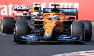 """McLaren revela danos em carro de Ricciardo na Hungria: """"Não tínhamos nada nas mãos"""""""