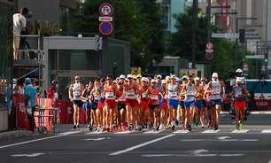 Caio Bonfim termina a marcha atlética de 20km na 13ª posição