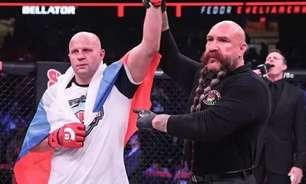 Após especular medalhões, americano será o adversário de Fedor no Bellator Moscou; confira
