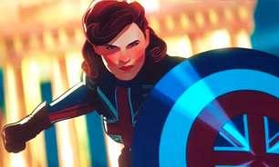 """Cena de """"What If?"""" mostra Capitã Bretanha e um Homem de Ferro diferente"""