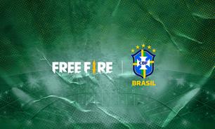 Free Fire é novo patrocinador da Seleção Brasileira