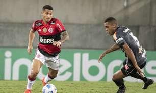 Em jogo com polêmica no VAR, Flamengo volta a vencer o ABC e avança na Copa do Brasil