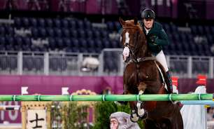 Brasil é sexto lugar no hipismo por equipe na Olimpíada
