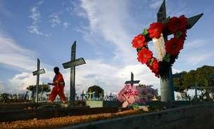 Brasil tem 187 mortes em 24h; média de óbitos segue em queda