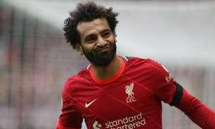 Liverpool não pretende liberar Salah para as Eliminatórias