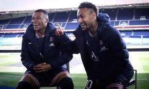 Messi, Neymar e Mbappé lembram 'Quadrilha', de Drummond