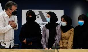 As afegãs especialistas em robótica que escaparam do Talebã