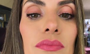 Isabella Fiorentino ensina truque para aumentar a boca