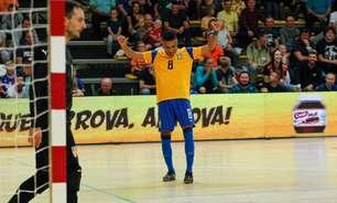 Em preparação para a Copa do Mundo de futsal, Brasil vence a Sérvia por 4 a 3