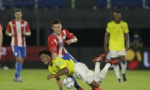 Eliminatórias: Paraguai e Colômbia ficam apenas no empate
