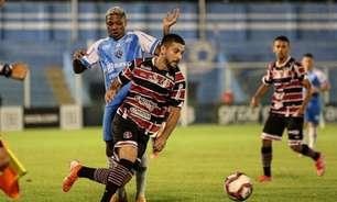 Roberto Fernandes tenta manter esperança do Santa Cruz em fugir da degola