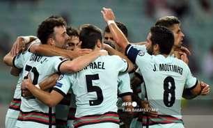 Portugal vence Azerbaijão pelas Eliminatórias sem CR7