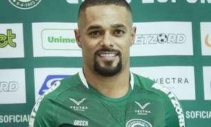 Goiás apresenta Welliton que enche de elogios o clube em seu retorno