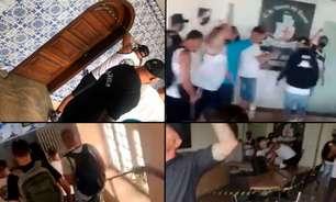 Organizadas do Vasco invadem São Januário e interditam salas