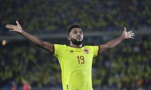 Com 2 gols de Borja, Colômbia vence Chile nas Eliminatórias