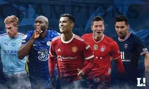 The Champions! Veja como chegam os cinco grandes favoritos ao título da Champions League