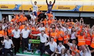 No GP de Monza da F1, laranja foi a cor da vitória