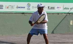 Baiano Pedro da Silva vence a primeira na Copa Atakarejo Costa Verde Tennis Clube, em Salvador (BA)
