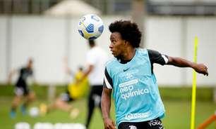 Corinthians: Willian encerra quarentena e volta aos treinos