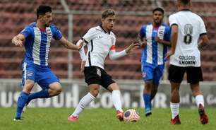 Corinthians empata com o Nacional e segue invicto no Paulistão sub-20