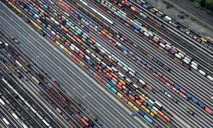 Superávit comercial da zona do euro recua em julho