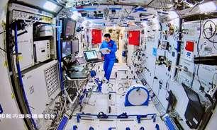Astronautas chineses deixam módulo da estação espacial rumo à Terra