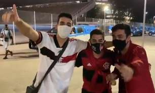 Veja em vídeos e fotos o clima no entorno do Maracanã no retorno da torcida em jogo do Flamengo