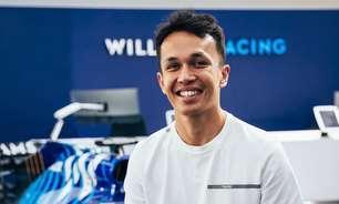 """Albon diz que """"não faz ideia"""" de termos de sigilo do motor Mercedes na Williams"""