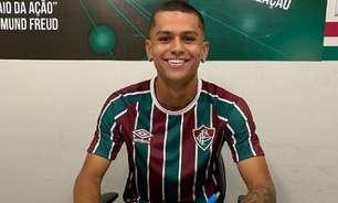 Artilheiro do sub-20, Luan Brito renova com Fluminense até 2024; multa é de mais de R$ 300 milhões