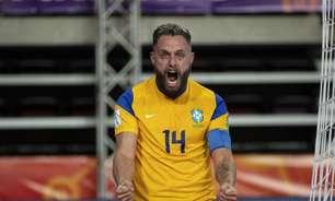 Brasil vence República Tcheca e avança no Mundial de futsal
