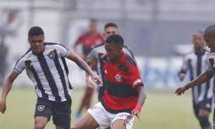 De virada, Flamengo vence o Botafogo e garante vaga na final do Campeonato Carioca sub-20