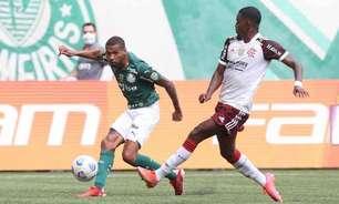 Habilidoso! Wesley é o jogador do Palmeiras com mais dribles certos no Brasileirão