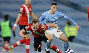 Manchester City x Southampton: onde assistir, horário e escalações do jogo da Premier League