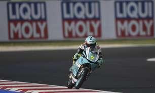 Foggia passeia e domina primeiro dia de treinos da Moto3 em Misano. Acosta é 2º