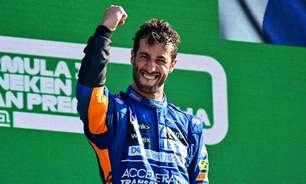 Ainda nem dá para saber se martírio acabou, mas Ricciardo deu lembrete de quem é