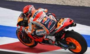 """Marc Márquez admite que não está curtindo MotoGP: """"Com dor, você não aproveita"""""""