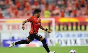 Mateus Castro brilha, e Nagoya Grampus é o único time japonês na próxima fase na Champions da Ásia