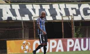 Diego Andrade celebra estreia na Copa Paulista pelo EC São Bernardo