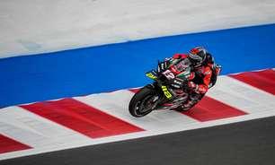 MotoGP vê Viñales na frente em dia de pouco sol e Ducati dominante na chuva em Misano