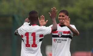 São Paulo faz 12 a 1 e passa por cima do SC Brasil no Paulistão Sub-20
