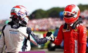 """""""Aprenda com o melhor"""", recomenda Leclerc a Russell na F1"""